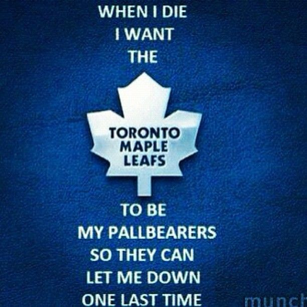 toronto maple leafs fan bus joke - Google Search