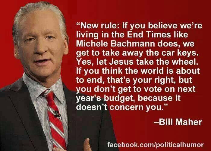 Bill Maher • political humor