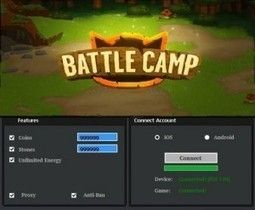The Battle Camp hack is the latest hack tool that we offer you, one that is extremely easy to use and with a very simple interface. You