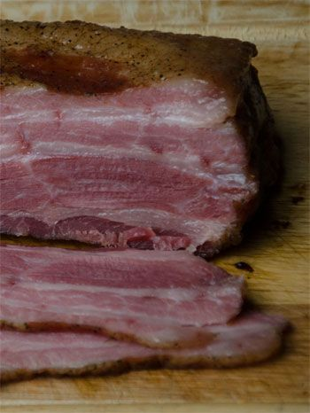 Making bacon from scratch at home is easy and the results sooooo much better…
