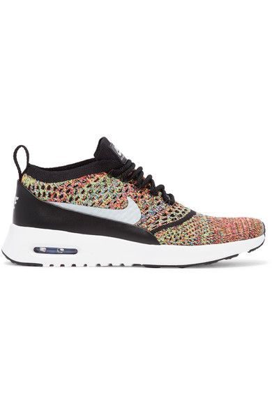 Nike - Air Max Thea Flyknit Sneakers - Green - US8.5