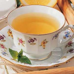 Αρωματικό τσάι δυόσμου.