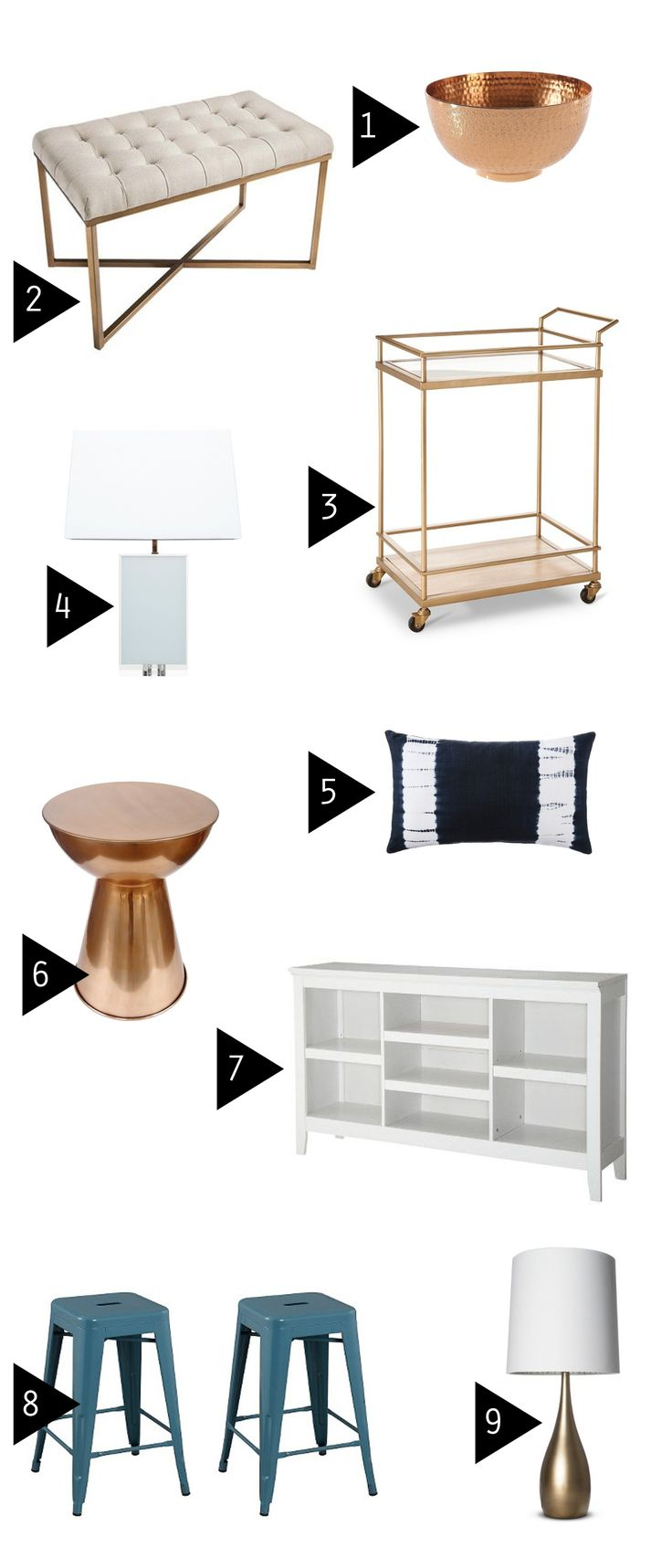 Favorite sources for affordable home decor: Target