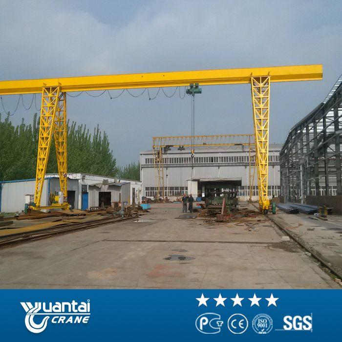 YUANTAI electric hoist single girder gantry cranes:http://www.ytcrane.com/products/gantry-crane/mh-single-girder-gantry-crane.html skype: cherry.swallow Email: christine@ytcrane.com