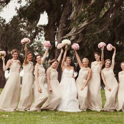 25  best ideas about Tan bridesmaids on Pinterest | Tan bridesmaid ...