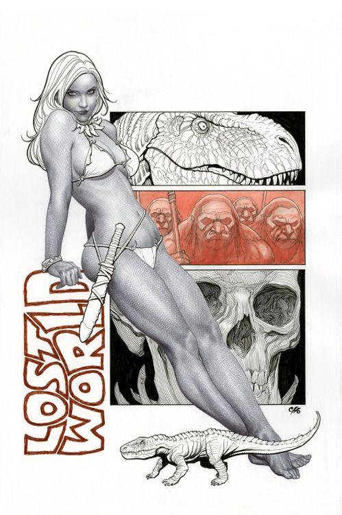 michaelallanleonard: Jungle Girl by Frank Cho