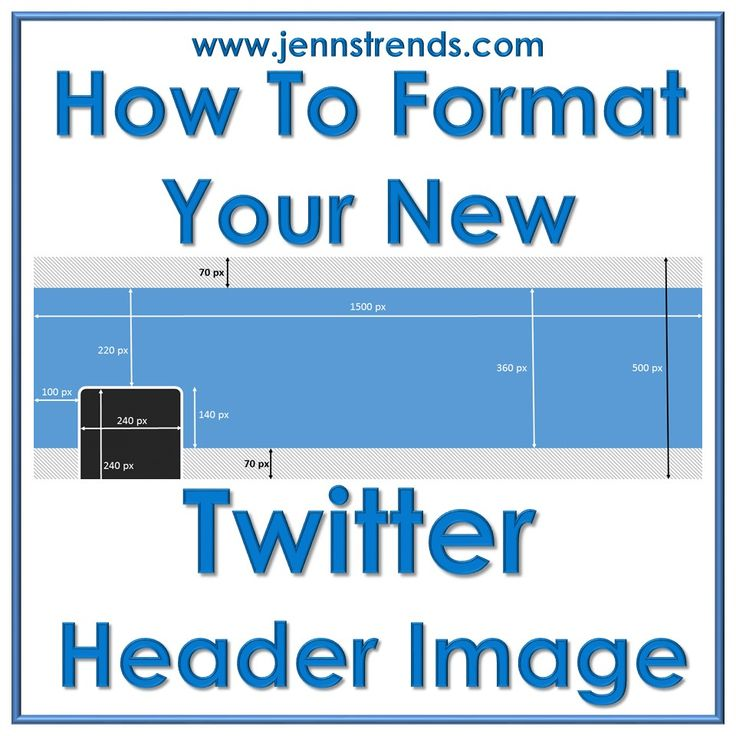 How to Format Your New Twitter Header Image Thanks to #Jennstrends  http://jennstrends.com/format-new-twitter-header-image-2014/