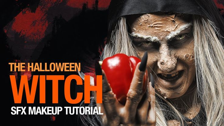 The witch halloween makeup tutorial