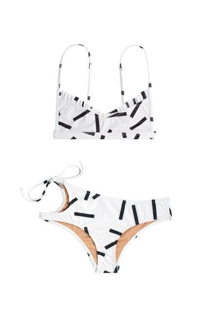 The Swimsuit Shopping Guide You Haven't Read Before #refinery29  http://www.refinery29.com/swimsuits-summer-water-activities#slide-5  Beach Personality: All Shade, All The TimeThe Suit That Suits You: Everyone knows where to find you: Kicking back under an umbrella. Since you're not one to lay out and douse yourself in tanning oil, it's easy to have fun with cut-outs and unexpected detailing. No fear of funky tan lines here.Made by Dawn Faith Top, $120, available at ...
