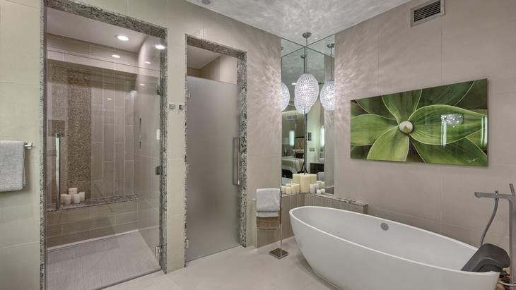 Feature Friday: If you're in Las Vegas for HD Expo, be sure to stop by the stunningly designed and beautifully appointed, the Mandarin Oriental, Las Vegas. This LEED-certified property features gorgeous fittings from multiple AXOR collections, which were specified for all three of the hotel's penthouse residences, as well as hansgrohe Raindance showers and trims. #featurefriday #hdexpo #hdexpo2017 #hansgrohe #hansgroheusa #axor