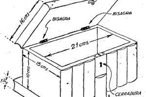 M s de 1000 ideas sobre cofre de madera en pinterest - Como hacer un joyero de madera ...