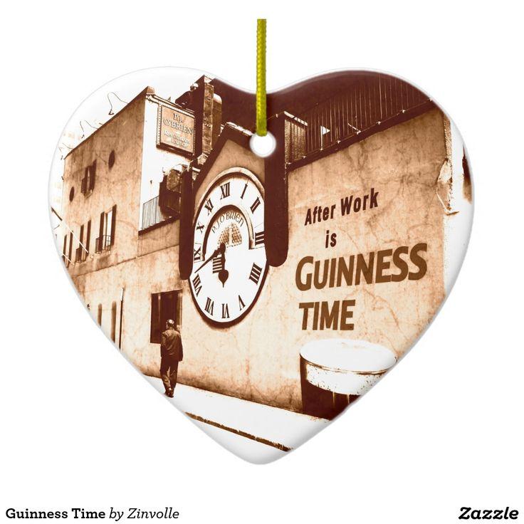 Guinness Time Ceramic Ornament