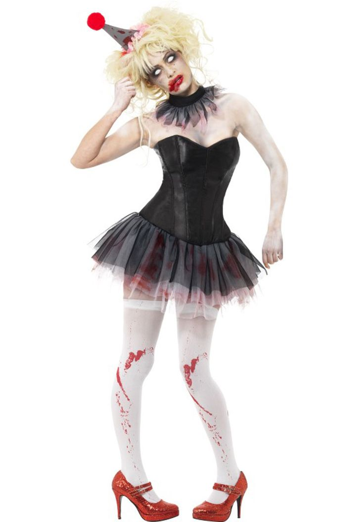 two of the most popular halloween themes come together for a bargain price with this zombie clown instant kit from our costume sets range - Popular Halloween Themes