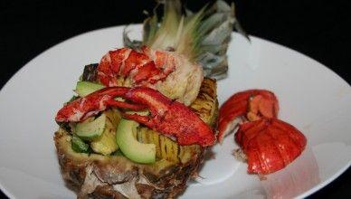 Kreeft ananas salade