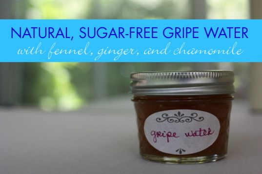 HOW TO: Make Your Own Natural, Effective Gripe Water Using Just Three Ingredients | Inhabitots