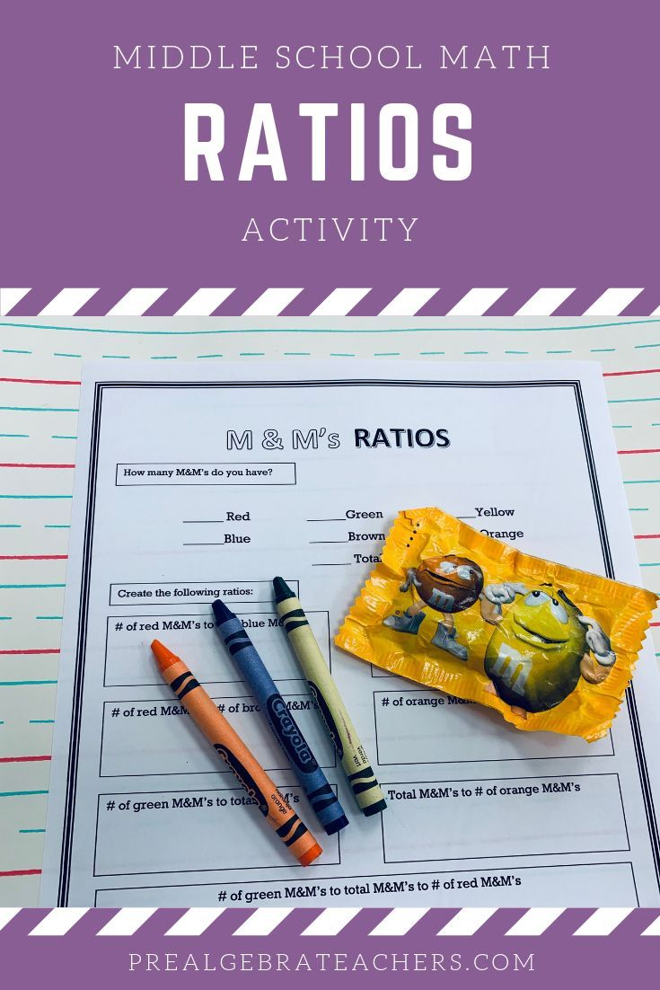 If You Need A Ratios Activity For Your Prealgebra Classroom Check