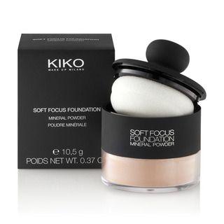 KIKO MAKE UP MILANO: Soft Focus Foundation - Fond de teint poudre minérale zéro imperfection