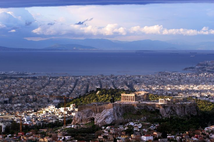 Travel Photography Greece, Athens, View over the Acropolis