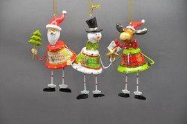 Decoratiuni craciun set clopotei figurine
