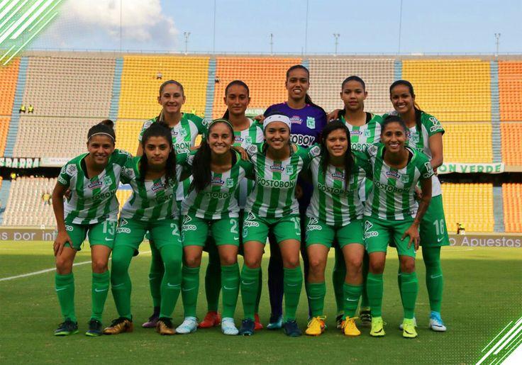 Hoy Liga Águila Femenina !  Quinta Fecha | Grupo D   Atlético Nacional vs Junior   Estadio: Atanasio Girardot  Hora: 5:00 p.m.  #VamosMiVerdepic.twitter.com/HZUqRQgvct