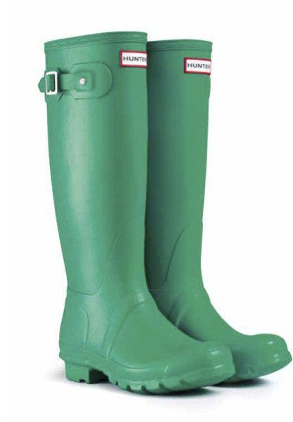 LOVE!!! --------------------------------------------- Hunter Green Original Tall Rain Boots