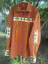 Mans Native American ribbon shirt size XL