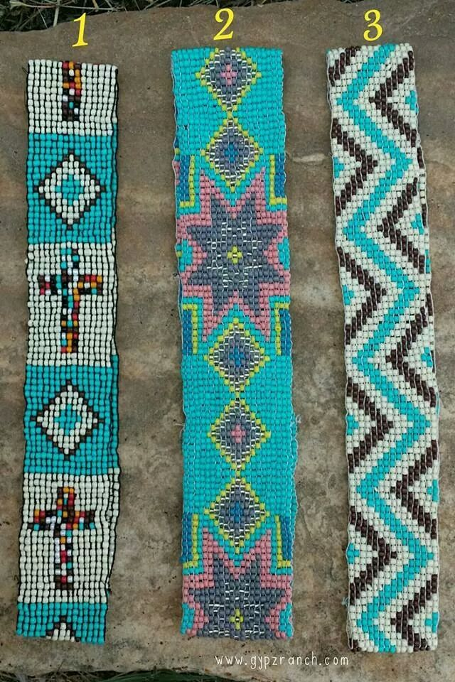 Beaded Headbands - 3 styles www.gypzranch.com $12