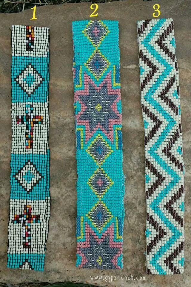 Beaded Headbands - 3 styles www.gypzranch.com $12