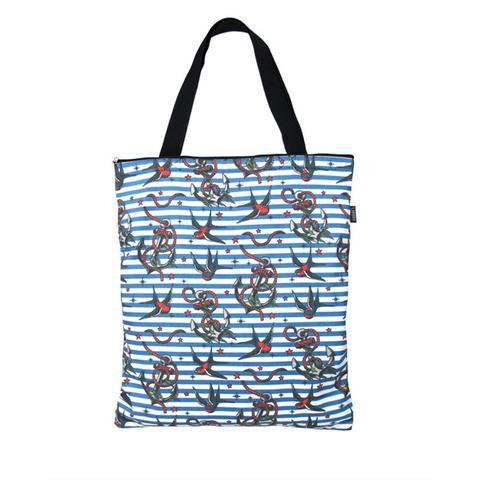 Anchor Bird Tote Bag