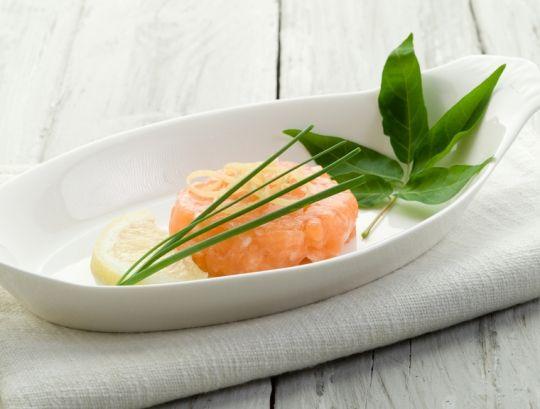 Тар-тар из лосося с сыром «Филадельфия» - Портал «Домашний»