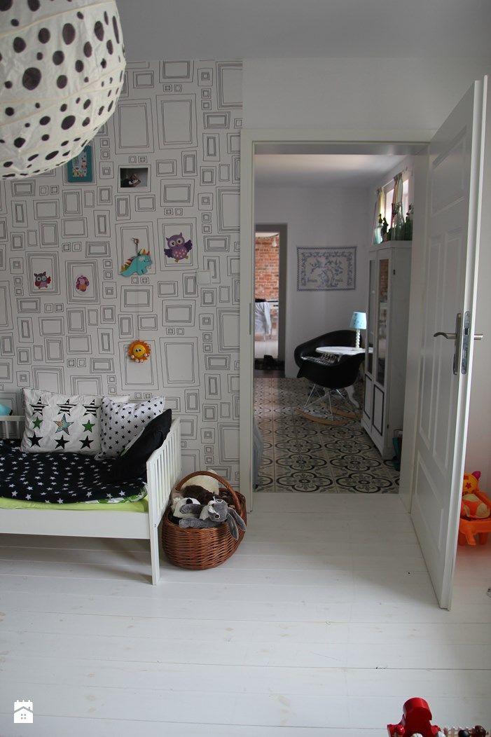 Pokój dziecka styl Skandynawski - zdjęcie od Agnieszka Kijowska - Pokój dziecka - Styl Skandynawski - Agnieszka Kijowska, black & white, scandinavian design, kidsroom, diy