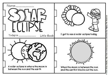 Solar eclipse little book(plus foldable booklet) (With