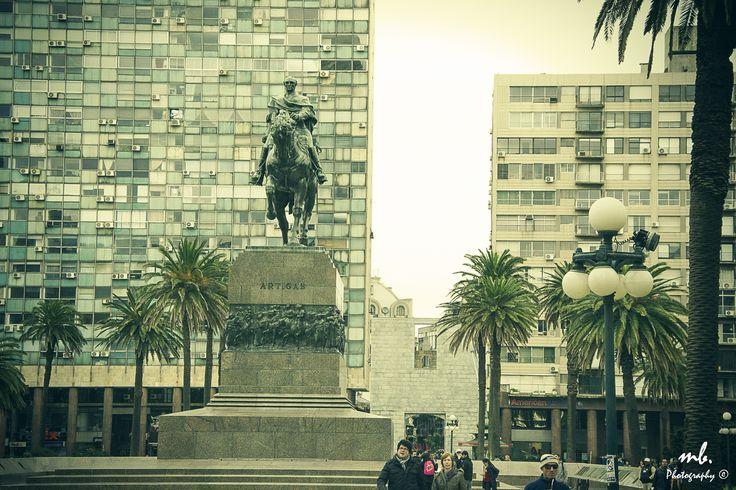 plaza de la Independencia. Montevideo. Uruguay