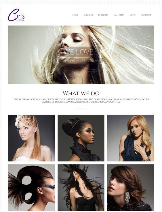 This WordPress theme for hair salons and spas comes with a filterable portfolio, a responsive layout, a working Ajax contact form, 100 shortcodes, 600+ web fonts, unlimited colors, CSS3 animations, SEO optimization, a shortcode generator, and more.