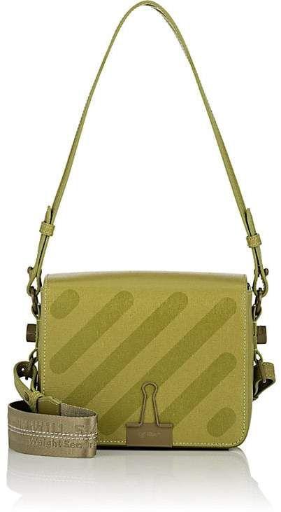 082b4c6ebf80 Off-White c o Virgil Abloh Women s Binder-Clip Small Leather Crossbody Bag