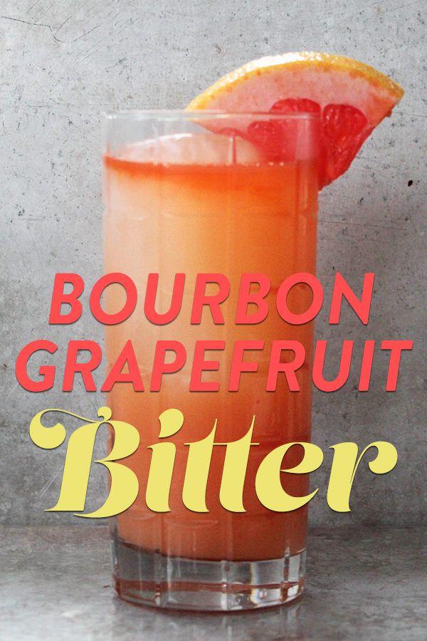Bitter, Bourbon and Recipe on Pinterest