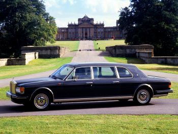 Rolls-Royce Silver Spur IV Touring Limousine '1995–98 YEA BABY