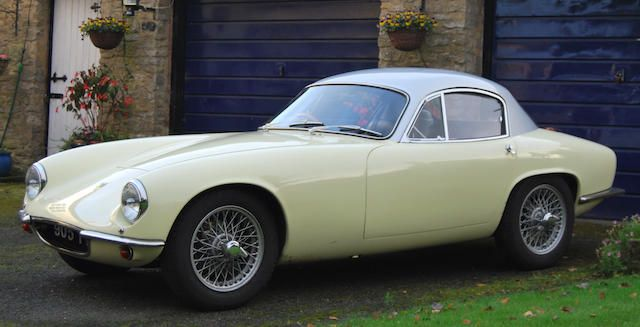 1962 Lotus Elite 1½-Litre Coupé  Chassis no. EB2181718