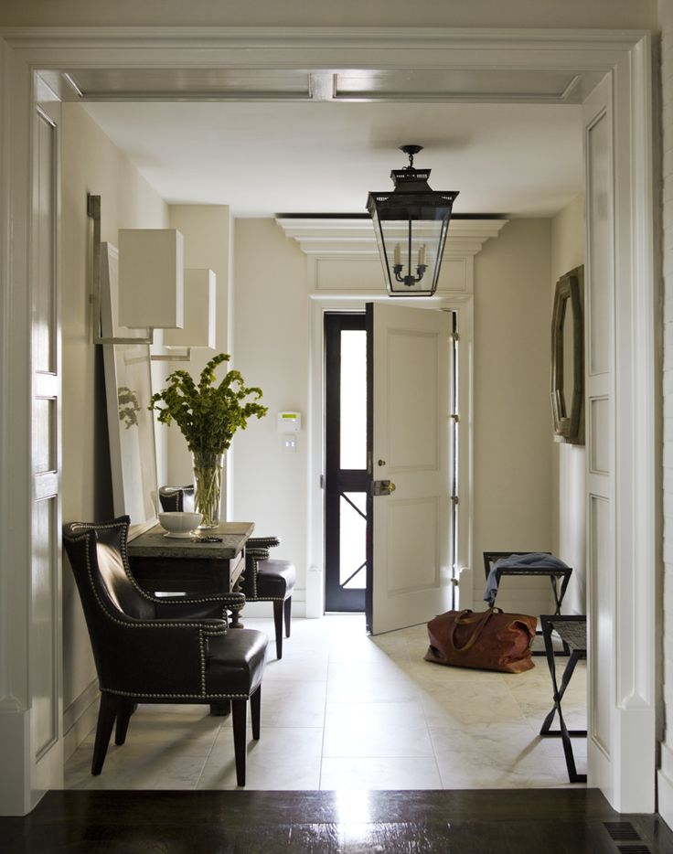 200 best architect bobby mcalpine images on pinterest for Main entrance foyer designs