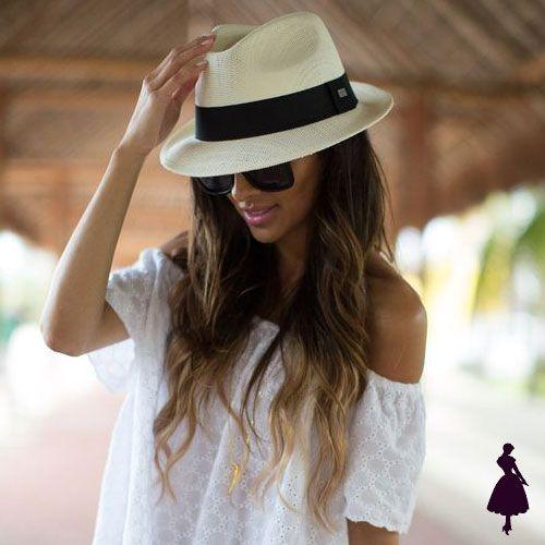 Sombreros panama hat