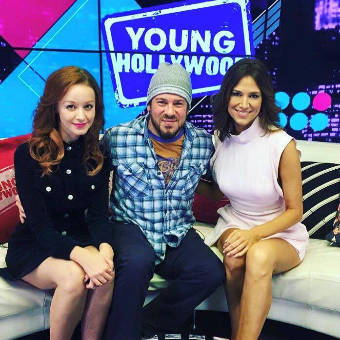 Christian Kane and Lindy Booth had a great time this morning talking The Librarians today on Young Hollywood! #becausemagic