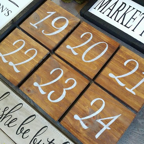Check out this item in my Etsy shop https://www.etsy.com/ca/listing/527588517/wedding-double-sided-table-numbers