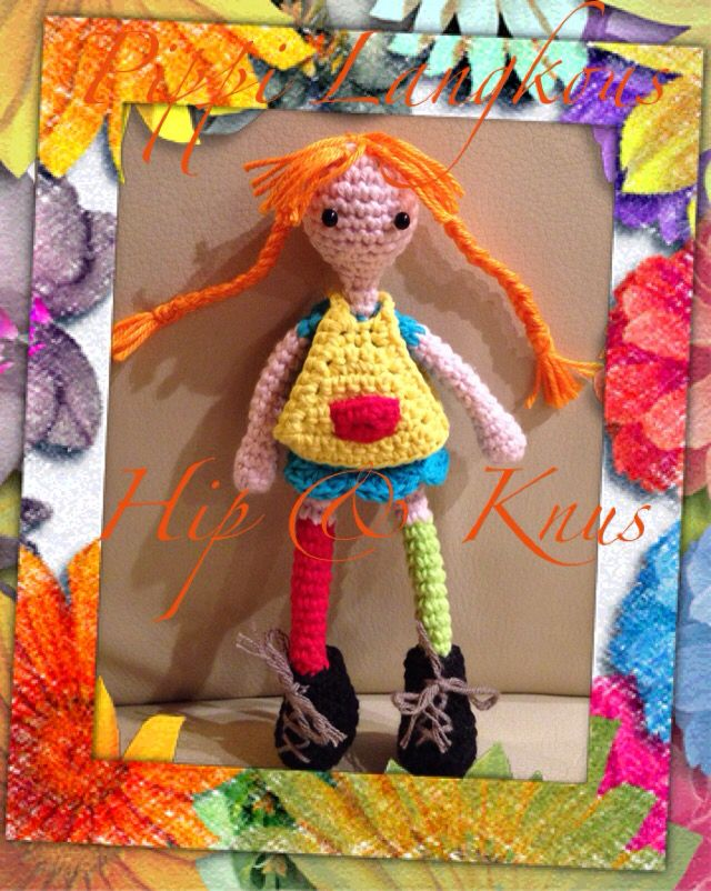 Pippi Langkous, made for my sister.
