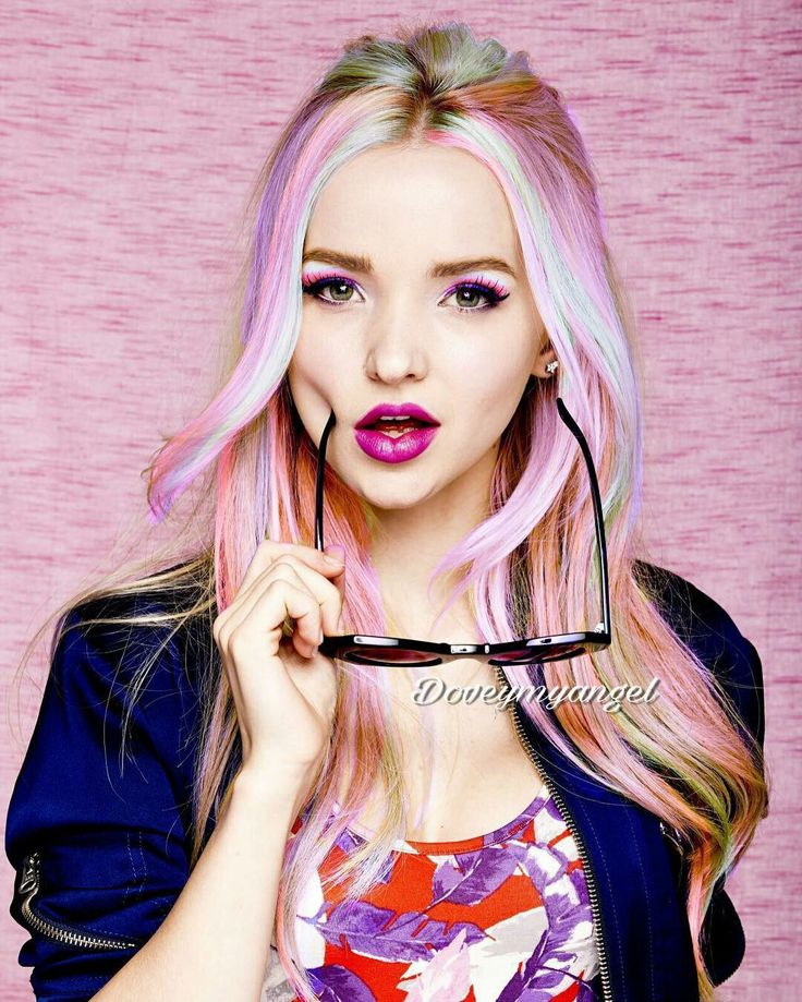 New hair don't care-dove Cameron