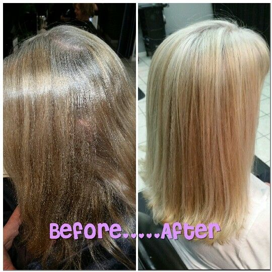Blonde highlight before and after. Natural blonde. Cover grey. Mom hair. Shiny. Pretty. Spring fever!