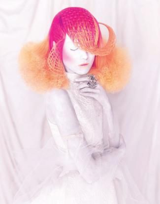 Extreme artistry. Painstaking craftsmanship. From buds to blooms and pupae to psychedelic butterflies, Spanish stylist Manuel Mon celebrates colorful transformations found in nature through hair.