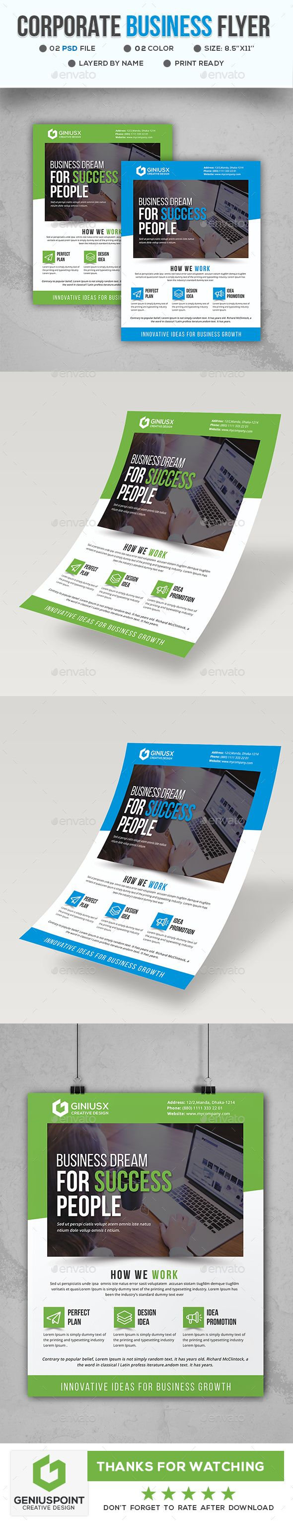 #Business #Flyer Template - Flyers Print Templates