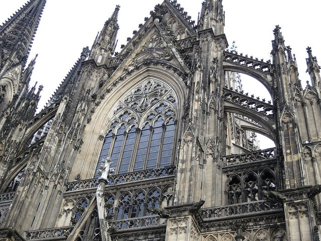 Cologne Cathedral-flying buttress