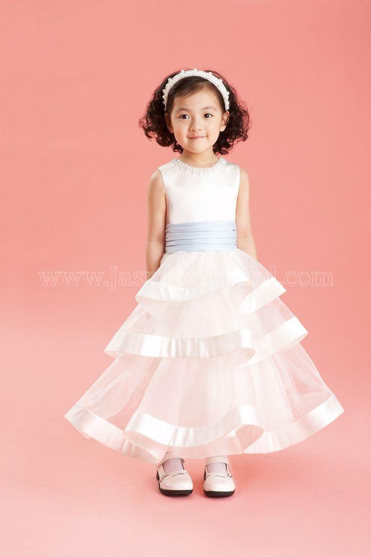 Mejores 33 imágenes de Bridal Flower Girls en Pinterest | Damitas de ...