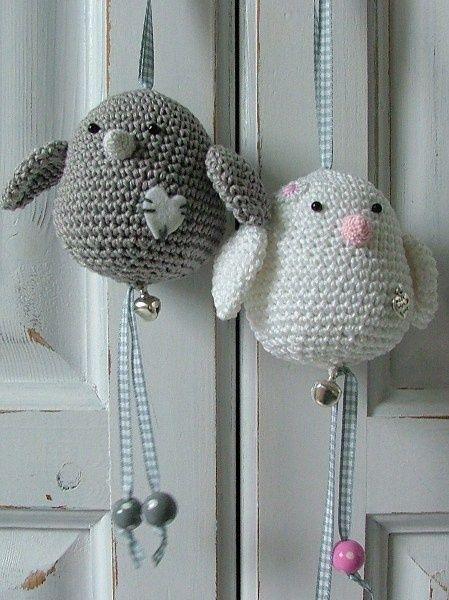 Des petits oiseaux crochetés - Inspirations Créatives